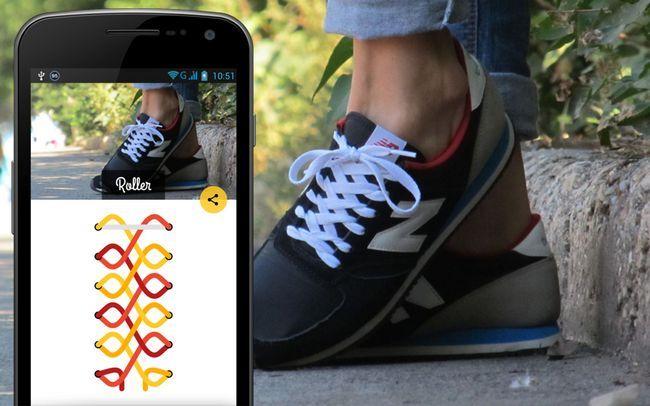 шнурівка взуття
