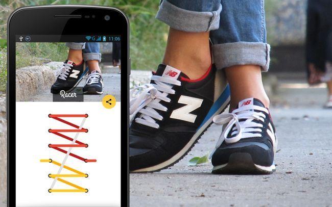 шнурівка кросівок