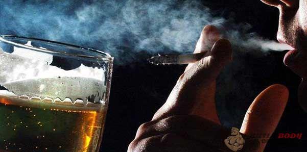 Уникайте вживання алкоголю і не курите сигарети