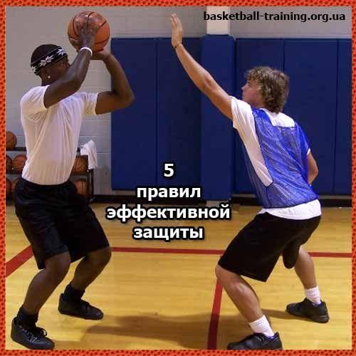 5 Рад ефективного захисту проти гравця з м`ячем
