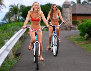 Прогулянки на велосипеді і їх користь.