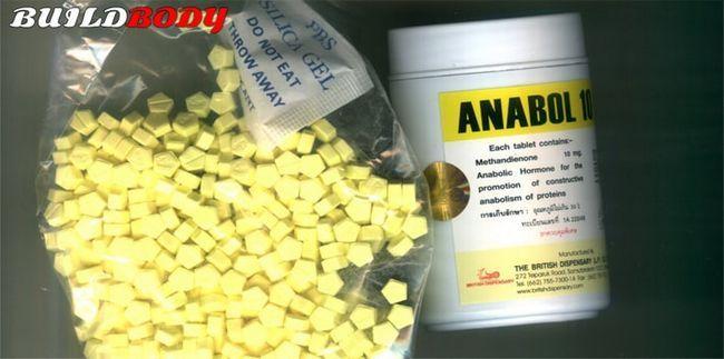 Анабол (anabol) 5 і 10 - відгуки, курс, побічні ефекти