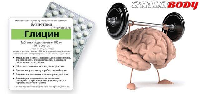 Гліцин - опис аптечної амінокислоти