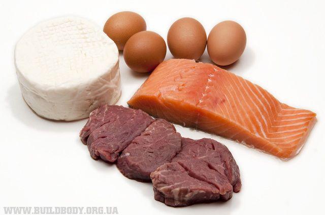 Продукти містять білок (протеїн)