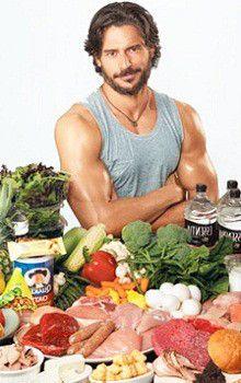 Білки, овочі, фрукти