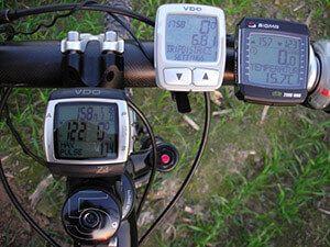 Дротової і бездротової велокомпьюте