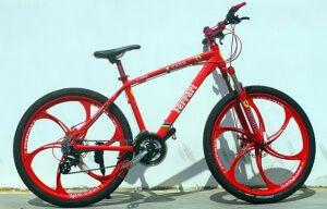 Велосипед на литих дисках Ferrari СX 50