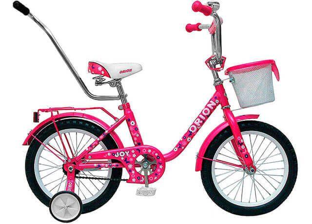 Дитячий велосипед з додатковими коліщатками Orion Joy