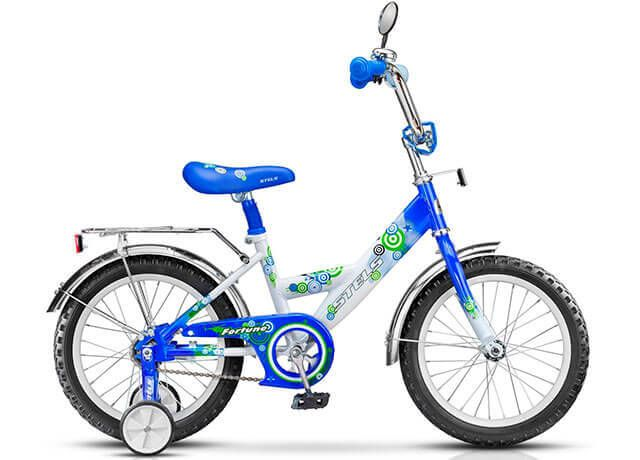 Дитячий велосипед з додатковими коліщатками Orion Fortune