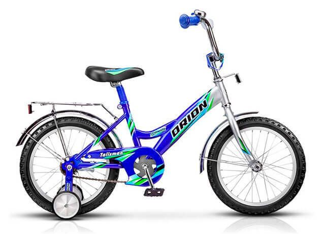 Дитячий велосипед з додатковими колесами Orion Talisman