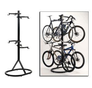 стійка або кріплення велосипеда для зберігання або ремонту його будинку
