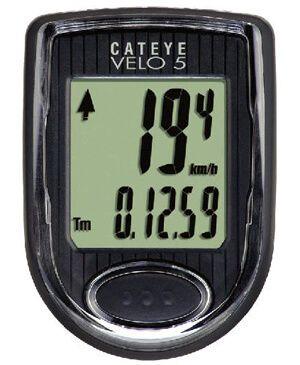 Давайте розберемося як працює велокомпьютер cateye velo 5