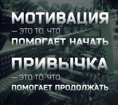 Мотивація і звичка
