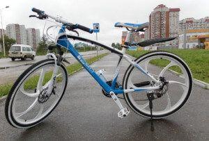 Велосипед на литих дисках BMW X6