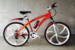 Велосипед з литими дисками BMW Duo Red