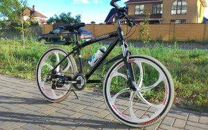 Велосипед на литих дисках BMW X1