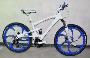 Велосипед на литих дисках BMW X3