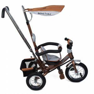 Дитячий триколісний велосипед з надувними колесами mini trike