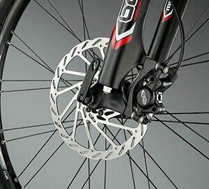 Дискові гальма на велосипед