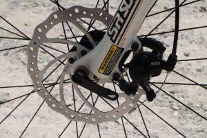 Механічні дискові гальма для велосипеда