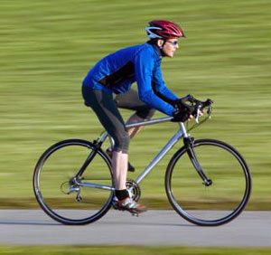 Правильна посадка велосипедиста