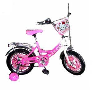 Велосипед з додатковими колесами для дитини 4-х років