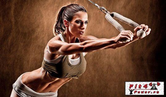Жіноча анаеробна тренування