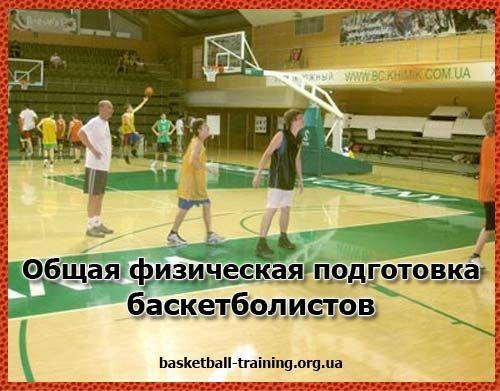 Фізична підготовка баскетболістів: частина 2