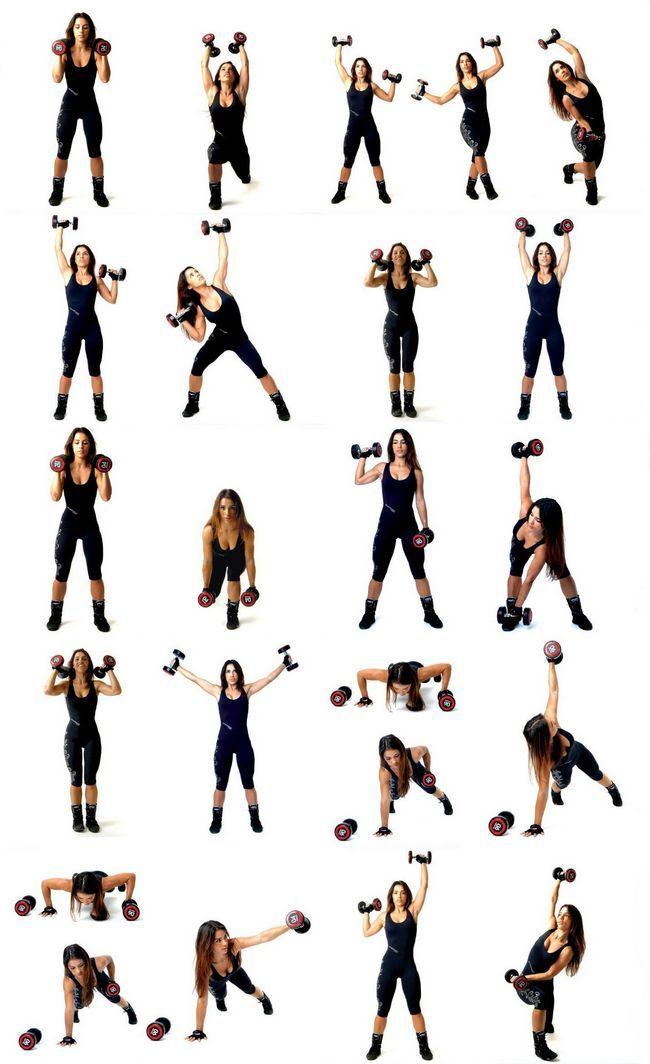 Гантелі для схуднення: інтенсивний курс