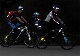 гірський велосипед. світловідбиваючі елементи