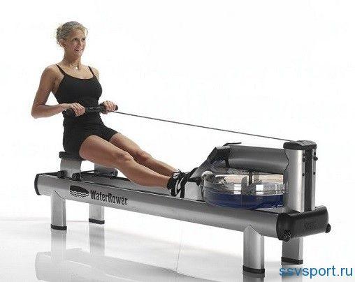 Гребний тренажер - які м`язи працюють
