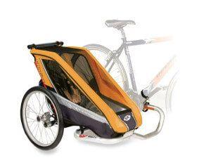 бічний пасажирський причіп для велосипеда