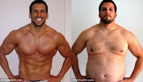 Схуднути за місяць, накачатися за два!