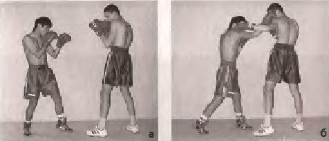 Захист зупинкою - накладенням правого передпліччя