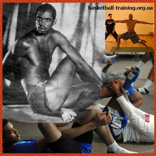 Йога для баскетболістів