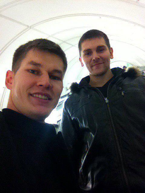 З Петром в Москві