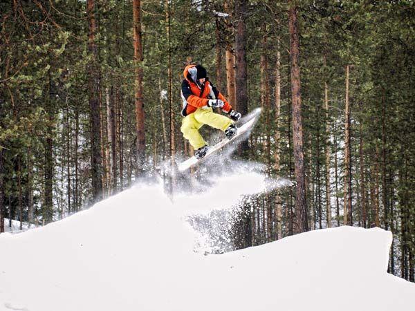 обертання сноуборд