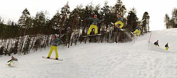 . Навчитися кататися на сноуборді.