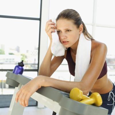 Як менше потіти на тренуваннях