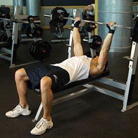 Комплекс вправ для м`язів грудей