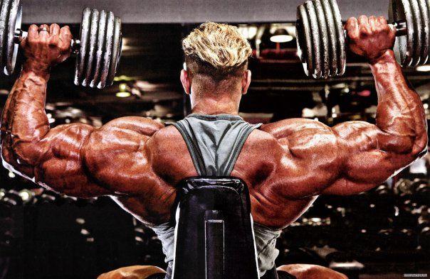 Як накачати плечі