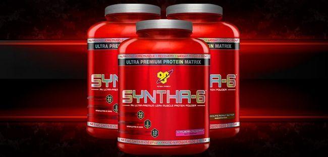 Як накачатися швидше з протеїном syntha-6