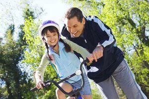 вчимо дитину кататися на велосипеді