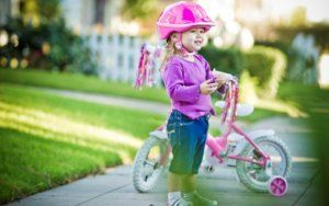 дитячий велосипедний шолом