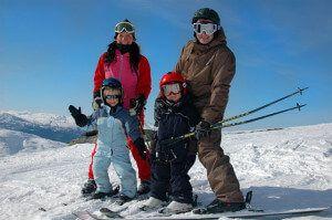 Як правильно вибрати лижі дитині і дорослому, підбір лиж по зростанню?
