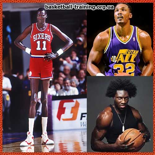 Тренування м`язів для високих гравців