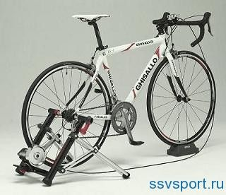 Як зробити велотренажер з велосипеда