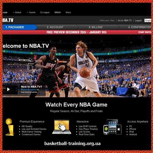 Як дивитися матчі nba онлайн