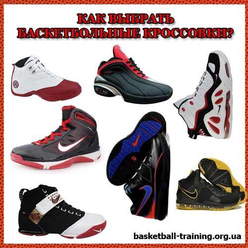 Як правильно вибрати (підібрати) баскетбольні кросівки