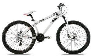 Гірський велосипед типу хардтейл для крос-кантрі або тріалу